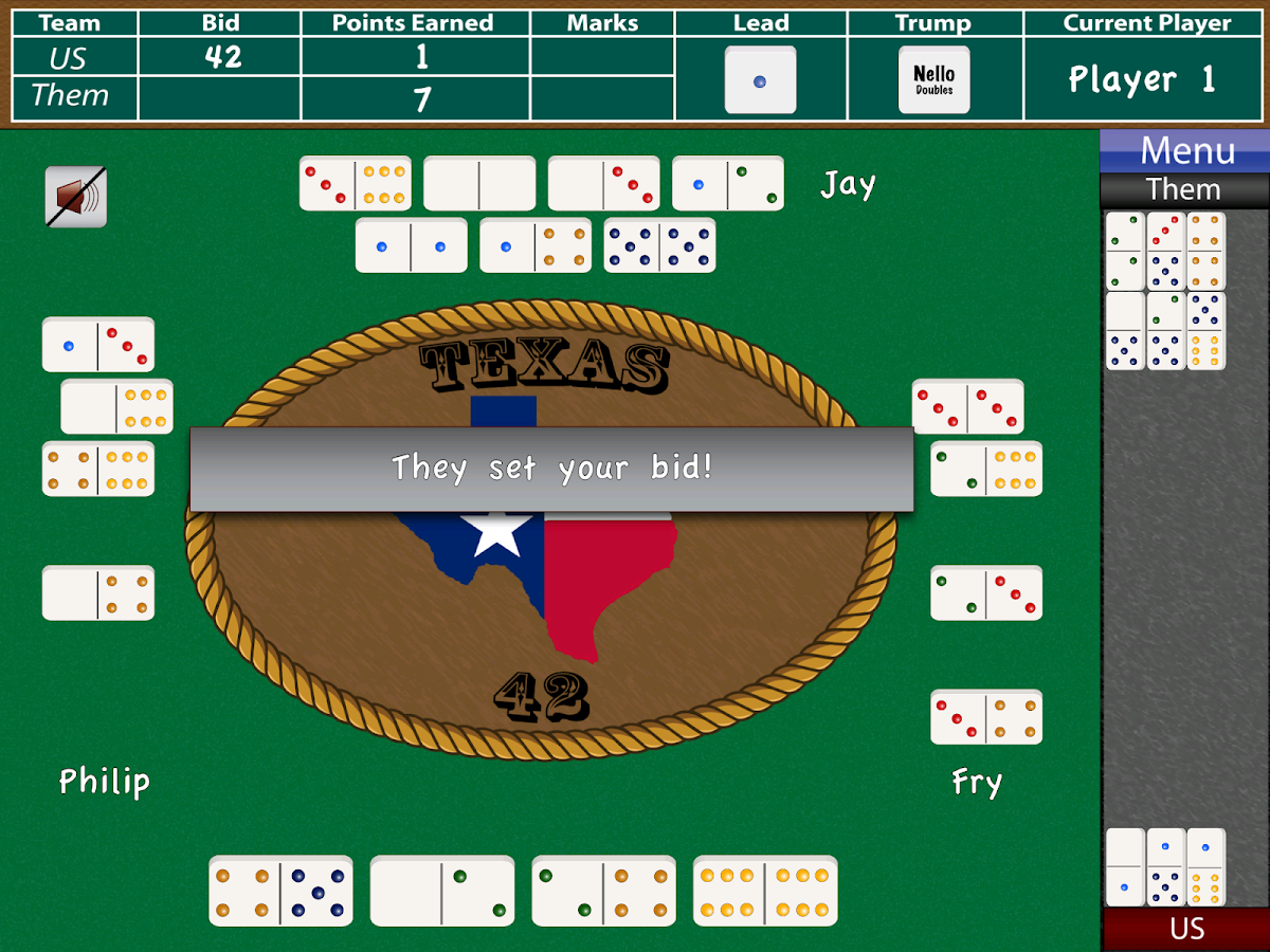 Texas 42- screenshot