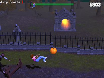 Zombie Halloween Dash- screenshot thumbnail