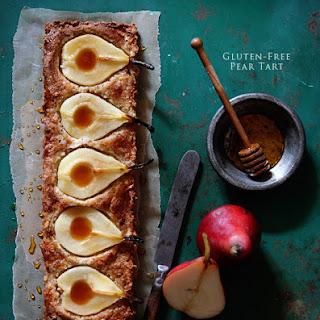 Gluten-Free Pear Tart.