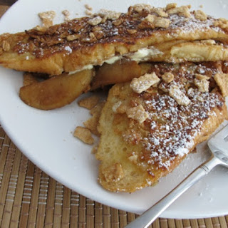Cinnamon Toast Crunch® Coated Apple Stuffed French Toast