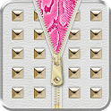 Gold Stud Zipper Lock Screen ◘ icon