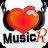 無料で音楽聴き放題!Music Heart R 高音質 logo