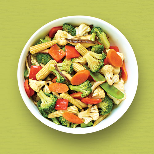 Pan-Simmered Stir Fry Vegetables with Vegetable Sauce Recipe