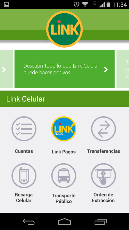 Link Celular - screenshot