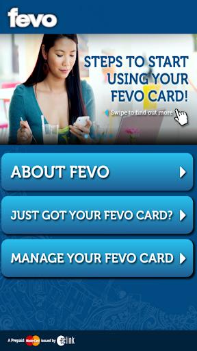 FEVO Prepaid MasterCard®