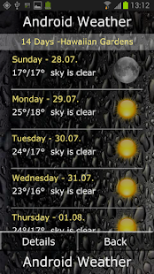 Android Weather Ad free - screenshot thumbnail