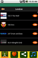 Screenshot of Radio UK