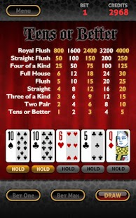 Vegas Video Poker HD- screenshot thumbnail