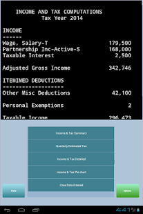 TaxMode: income tax calculator - screenshot thumbnail