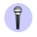 Status MC: Facebook via Voice icon