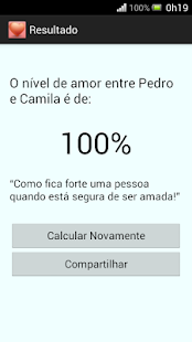 Calculadora do Amor - Simples- screenshot thumbnail