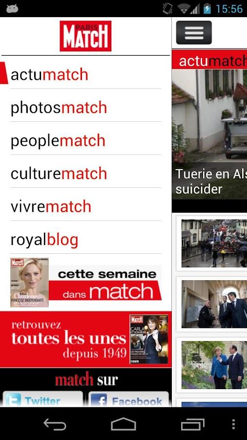 Paris Match Actu - screenshot
