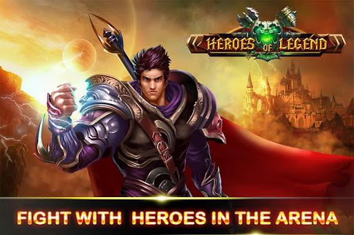 Hero of Legend: Castle defense