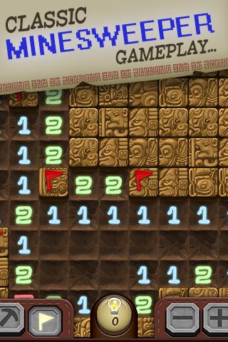 Temple Minesweeper - Free Minefield Game- screenshot