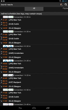 Airline Flight Status Tracking 1.7.5 screenshot 206392