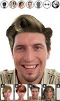 Screenshot of Magic Mirror, Hair styler