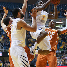 WVU Basketball by Craig Gunter - Sports & Fitness Basketball