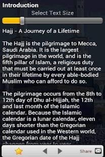 Hajj Guide (Islam)- screenshot thumbnail