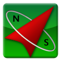 Backtrack - The compass back icon