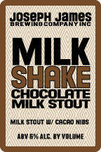 Logo of Joseph James Milkshake Chocolate Milk Stout