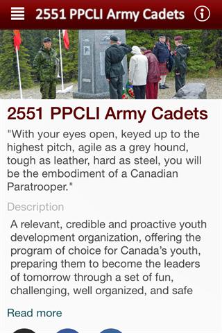 2551 PPCLI Army Cadets