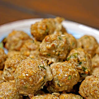 Roasted Garlic Turkey Meatballs.