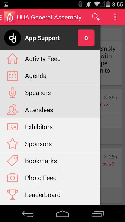 UUA General Assembly 2014 - screenshot
