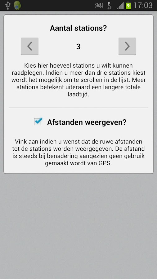 BE Live trein info 2 - NMBS - screenshot