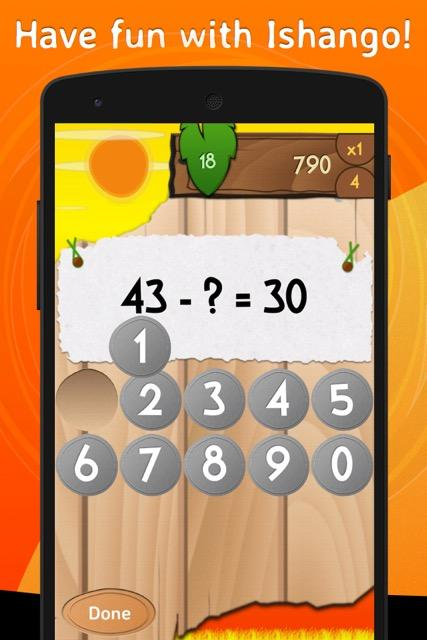 Ishango: fun with numbers!- screenshot