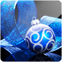 3D Christmas Ball logo