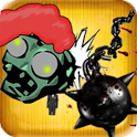 Crush The Zombies Free icon