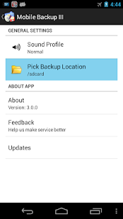 Mobile Backup 3 - screenshot thumbnail