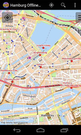Hamburg Offline City Map