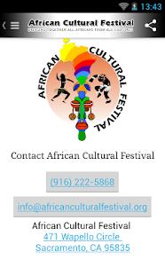African Cultural Festival- screenshot thumbnail