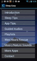 Screenshot of iSleep Easy Sleep Meditations