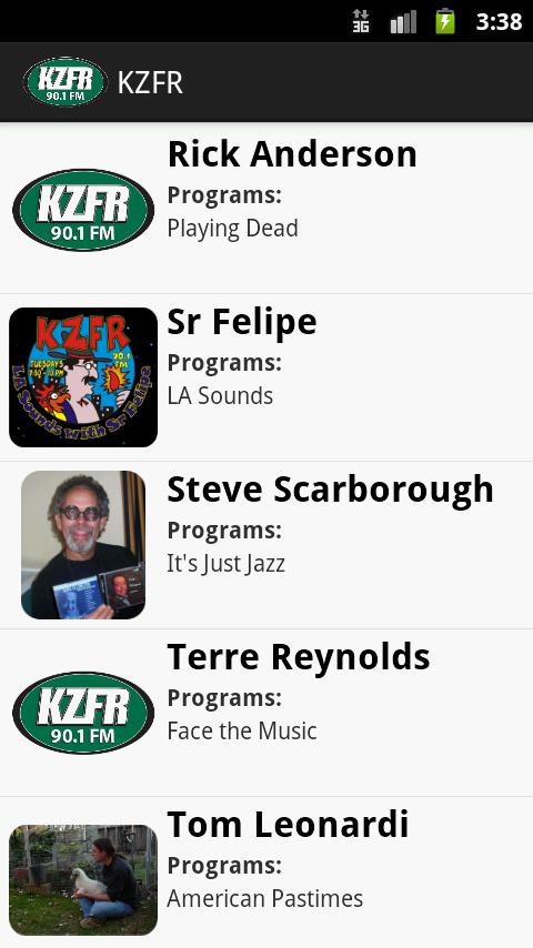 KZFR Radio - screenshot