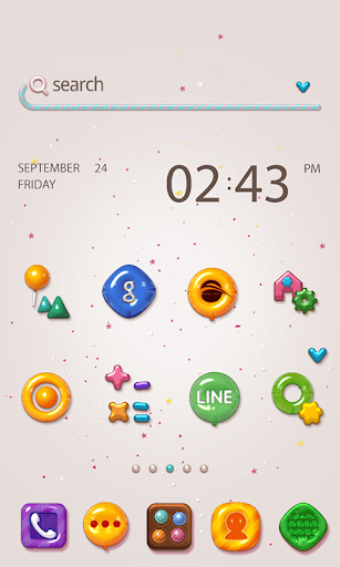 Download Free Exo Dodol Theme - for Android - Android Informer