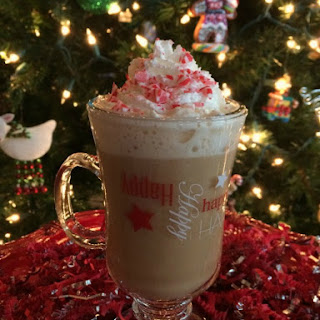 Boozy White Chocolate Peppermint Mocha Recipe
