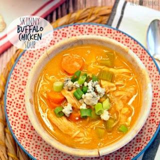 Skinny Buffalo Chicken Soup.