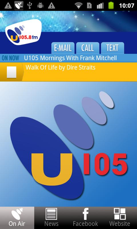 U105 - screenshot