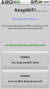 KeepWiFi Locale screenshot 0