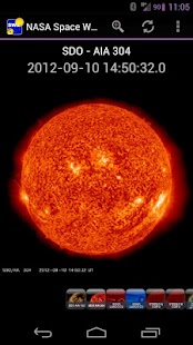 NASA Space Weather - screenshot thumbnail