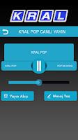 Screenshot of Kral Tablet