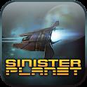 Sinister Planet (Ads) logo