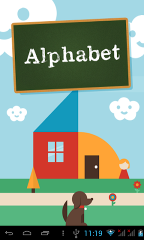 android English Alphabets kids Screenshot 0