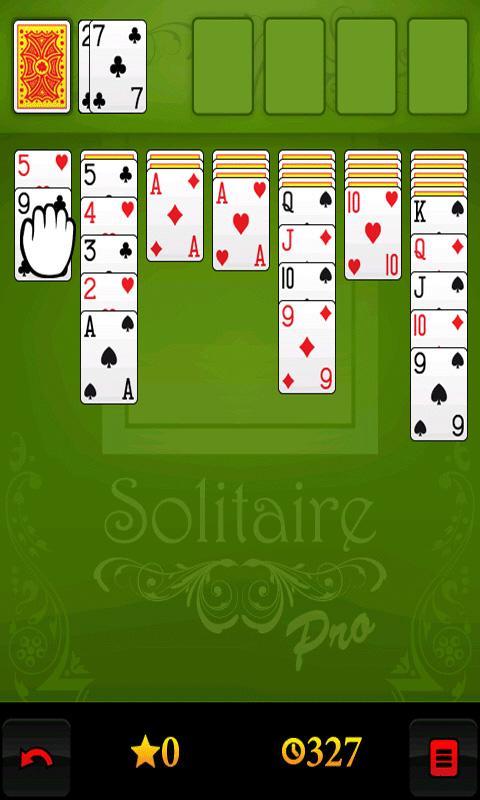 Solitaire Pro - screenshot