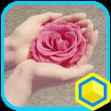 당신에게 꽃을 드려요 카카오홈 테마 icon
