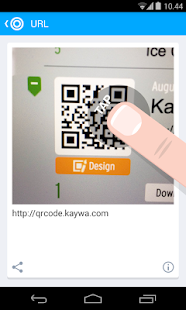 QR Code Reader from Kaywa - screenshot thumbnail