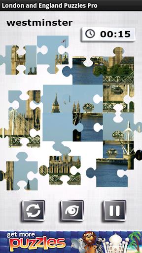 ロンドンとイングランドパズル