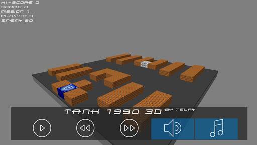 Tank 1990 3D Battle City